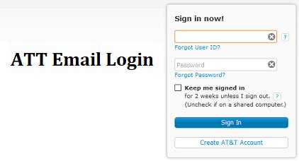 Att Email Login