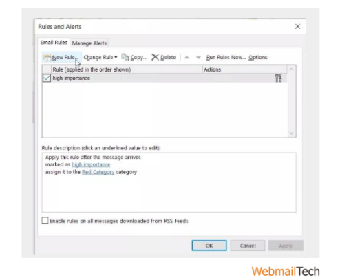 How to auto bcc cc for Microsoft Outlook 2013.