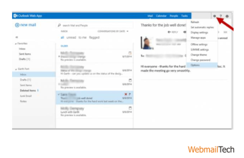 change an email signature in Outlook