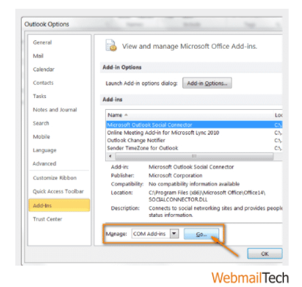 FIX OUTLOOK 2016 CRASHES ISSUE