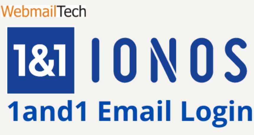 1and1 IONOS email login