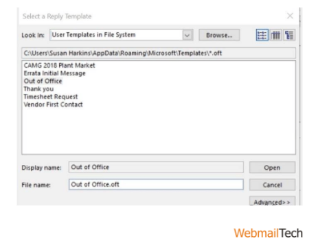 set up office in outlook