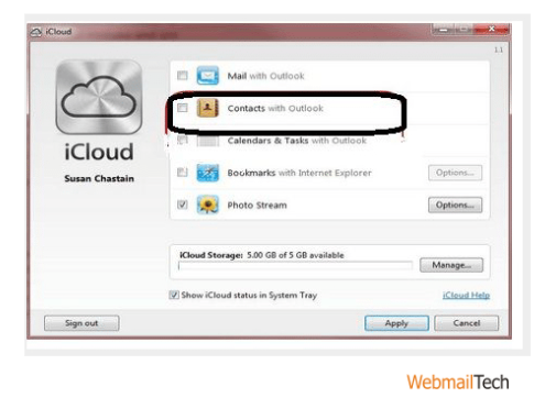 Transfer Your Outlook Contacts