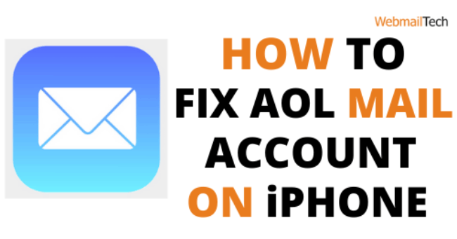 Fix- AOL mail not working on iPhone issue
