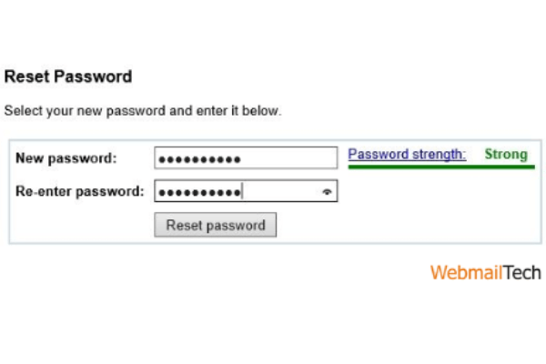 When you get the confirmation, check to see if the password recovery process was successful. Log in to confirm same.