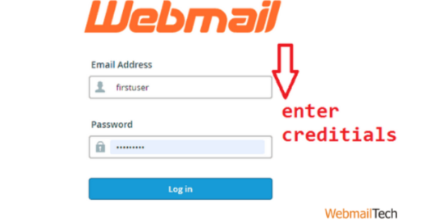 Enter your Godaddy email account or workplace webmail username and password. Then you'll be taken to your email account.