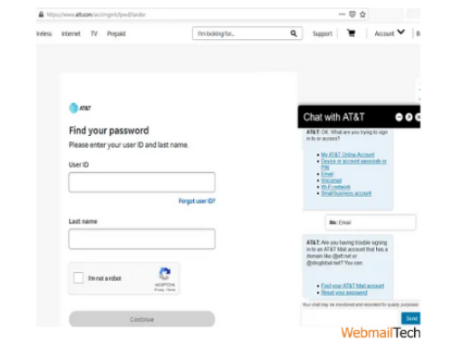 You may now create a new password for your Bellsouth account. Make sure you enter this new password the next time you log in to your Bellsouth account.