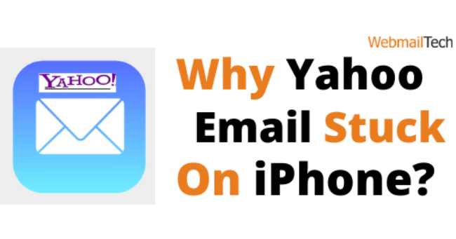 Why Yahoo Email Stuck On iPhone?