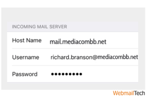 On Incoming Mail Server:-
