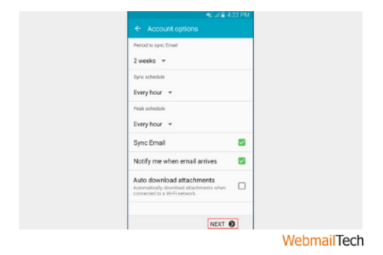 Mediacom Email Configuration For Android